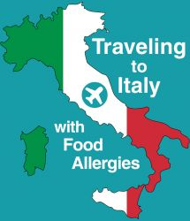 Travelling to Italy with Food Allergies: Document by IFAAA